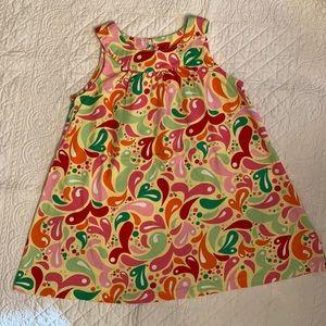 Hanna Andersson Pattern Sleeveless Dress